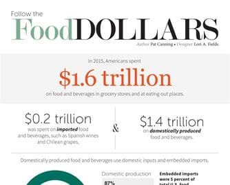 Food Dollar Infographic