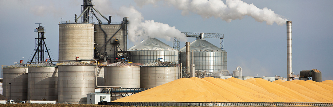 Photo of an ethanol plant