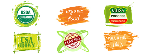 Food label logos