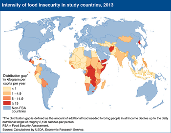 Sub-Saharan Africa remains the most food-insecure region in 2013