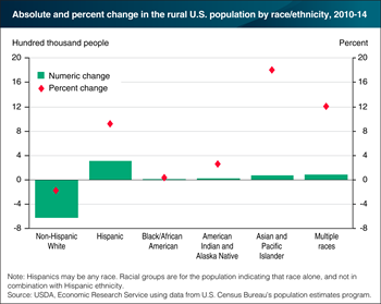 Racial/ethnic diversity in rural America is increasing