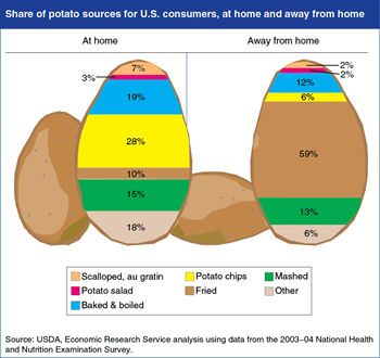Editor's Pick 2014: At home or away, most potatoes are eaten in forms that add calories
