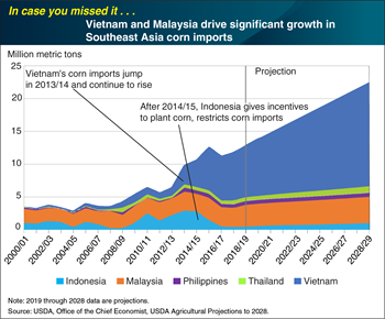 ICYMI... Vietnam and Malaysia drive significant growth in Southeast Asia corn imports