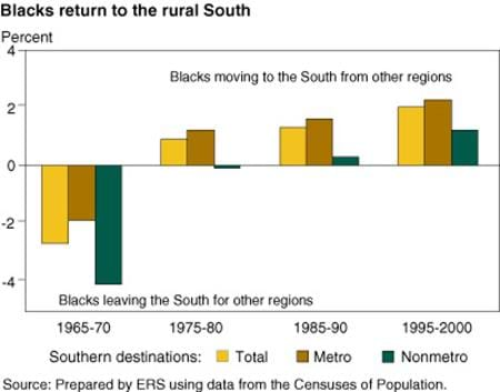 Blacks return to the rural South