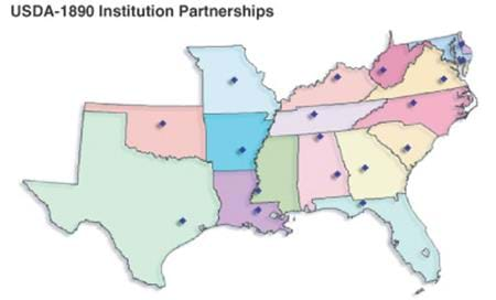 USDA 1890 Institution Partnerships