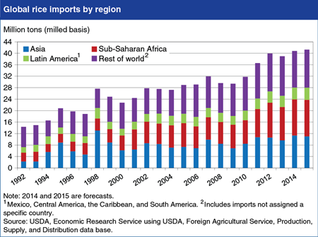 Global rice trade heading for another record in 2015