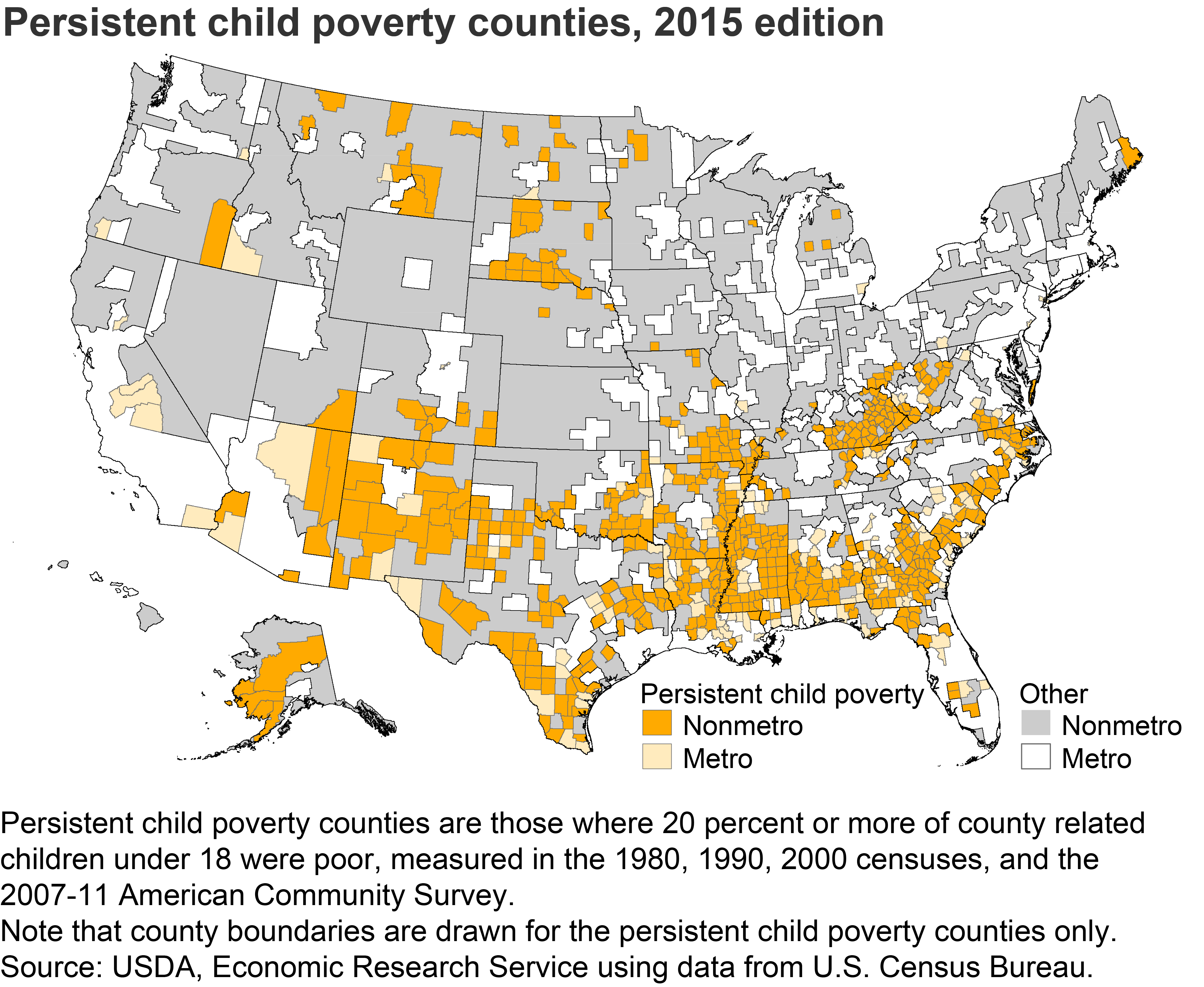 USDA ERS Descriptions And Maps - Us counties in excel
