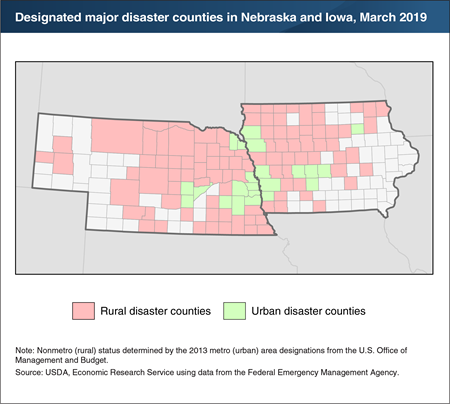 Historic Midwest flooding severely impacts rural counties in Iowa and Nebraska